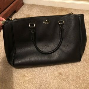 Kate spade double zip purse